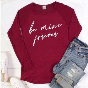 ❤️ Be Mine Forever graphic tee